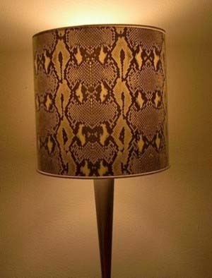 Animal Skin Lamp Shades